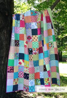 simple summer quilt complete                                                                                                                                                                                 More