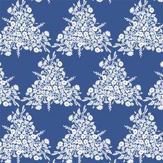 Hawthorne Threads - Meadowlark - Triflora in Blue Jay