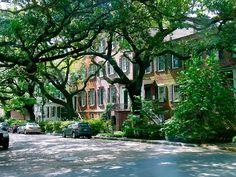 Savannah Street Scene by jtdiego, via Flickr