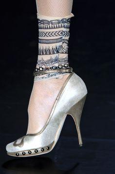 Jean Paul Gaultier at Paris Fashion Week Spring 2009
