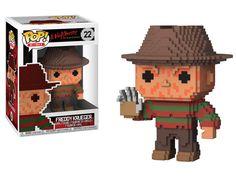 Funko POP A Nightmare on Elm Street: Freddy Krueger Scary looking adorable Chocking Hazard Ages Freddy Krueger, Michael Myers, Paw Patrol, Funko Pop Horror, Dragon Ball, Chibi, 8 Bits, Pop Collection, Pop Vinyl Figures