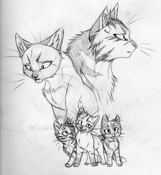 Their HIS kits SKETCH by KasaraWolf on DeviantArt