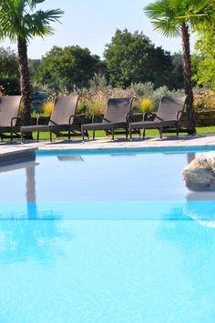 Paix, Relaxation, Repos, Détente, Bien être... #piscine