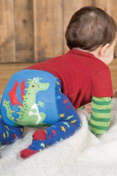 ac7893bca8d021 Frugi Baby und Kinder Strumpfhose Drache mit Stern