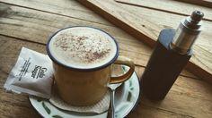 Coffee and vape