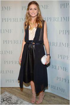 Olivia Palermo NewYork Moda Haftasında  Piperlime Celebrates New York Fashion Week party 5 Eylül 2014...