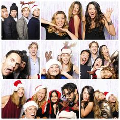 The drunken pixel photo booth added some shimmer & shine to the Tone It Up Holiday Party! #TIUwonderland #drunkenpixel