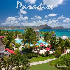 Sandals Grande St. Lucian is ideally situated in its own peninsula. It is usually dubbed as the closest vacation to a postcard! --------------------------- #stlucia #vacation #resort #caribbean #hotel #travel
