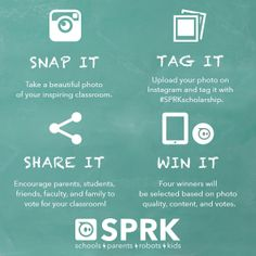 To launch our #SPRK program, we're giving away 4 iPads & 4 Spheros to 4…
