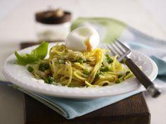 Unser beliebtes Rezept für Blitz-Spaghetti in Parmesan-Butter mit Erbsen und gekochtem Ei und mehr als 55.000 weitere kostenlose Rezepte auf LECKER.de.