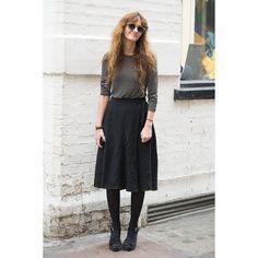 ロンドンの最新スナップは、レトロ感漂う70sヴィンテージな着こなし。|ファッション(流行・モード)|VOGUE