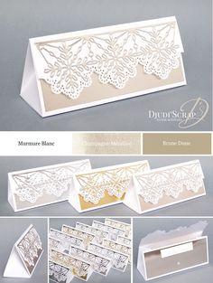 Tutoriel Boîte Triangle Ferrero «Thinlits Flocons Virevoltants» – Djudiscrap
