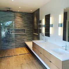 Transform your master bathroom into a barrier-free wet room oasis. Let a linear drain help make your design come to life. Trench Drain Systems, Linear Drain, She Wolf, Shower Drain, Wet Rooms, Master Bathroom, Your Design, Home Goods, Luxury