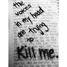 The Voices In My Head Are Trying To Kill Me