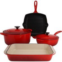 """I've been collecting these over the years in red and in """"ocean"""". Le Creuset, Grill Pan, Over The Years, Yummy Food, Canning, My Favorite Things, Pots, Sad, Ocean"""