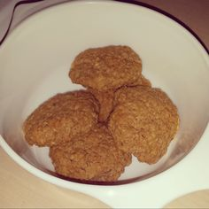 Peanut Butter and Oat cookies.