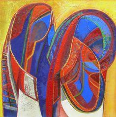 Ellen van Randeraat - quo vadis Art Sketchbook, Quilt Patterns, Abstract Art, Van, Quilts, Artwork, Painting, Color, Work Of Art