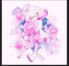 IkA WoOmY~Cute octoling girl