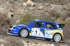 TIEMPO DE DEPORTE: A. Viera-V. Pérez (Fabia WRC) lucharán por su 4º t...