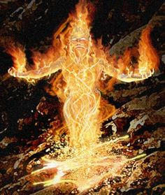 Quest Cards: Fire Elemental by Joel Hoekstra