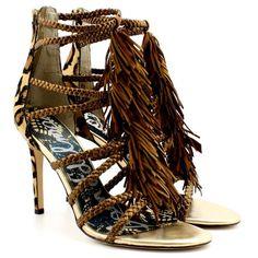 Sam Edelman Savannah Fringe Sandals
