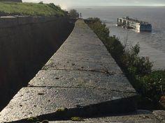 The Viking Forseti docked at Blaye