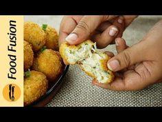 Croquette Balls Recipe by Food Fusion Chaat Recipe, Biryani Recipe, Indian Snacks, Indian Food Recipes, Ethnic Recipes, Baked Chicken, Chicken Recipes, Ramzan Recipe, Fusion Food