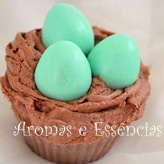 Cupcake ninho de ovos