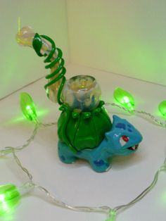 Hey, I found this really awesome Etsy listing at http://www.etsy.com/listing/154518619/custom-bulbasaur-bubbler-pokemon-pipe