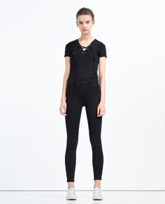 Image 1 of TIGHT FIT JEANS from Zara