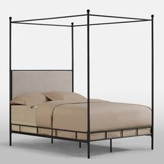 Lauren Full Metal Canopy Bed | Overstock.com Shopping - The Best Deals on Beds