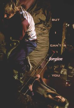 I love you, Tate. But I can't forgive you.