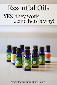 Are you a skeptic when it comes to essential oils? This post includes links to over 30 scientific studies proving the effectiveness of 12 different oils! | Feathers in Our Nest