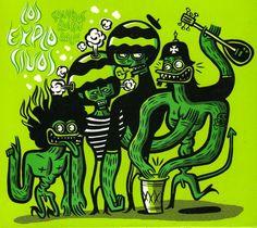 Dr. Alderete 2009 Los Explosivos - Sonidos Rocanrol!!! [Primitv] #albumcover