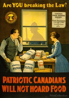 Canadians Will Not Hoard Food