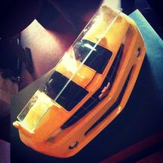 #Prateleira estilo frente de #Camaro, item oficial da #GM, importada dos EUA.