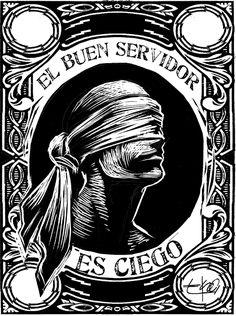 Aforismos EKO Jose Garcia, Latino Art, Protest Posters, Political Art, Scratchboard, Sgraffito, Pulp Art, Surreal Art, Printmaking