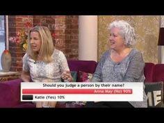 Katie Hopkins vs Anna May Mangan - should you judge a person by their na...
