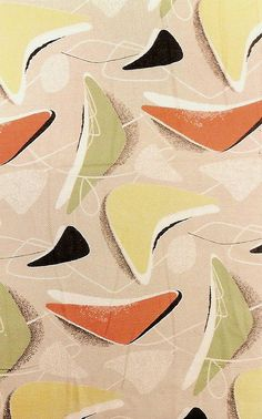 1950s design on fabric, by Java1888 on Flickr #1950s #design #fabric