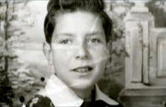 Leonard Cohen as a young boy.