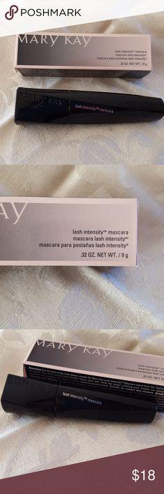 Mary Kay lash intensity mascara nwt .32 oz. lash intensity mascara  adds 200% more volume! Mary Kay Makeup Mascara