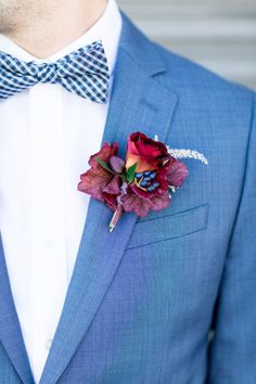 Snazzy blue suit: http://www.stylemepretty.com/2015/06/17/the-style-me-pretty-brides-guide-to-something-blue/