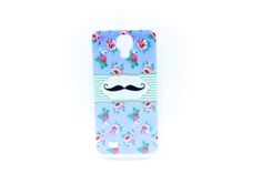 Carcaza Flores mostacho S4 mini - HighTeck Store — HighTeck Store
