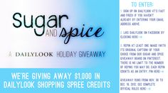 DailyLook Sugar and Spice Holiday Giveaway