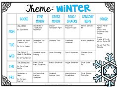 School: Winter So many fun winter and snow themed activities and ideas for tot school, preschool, or the kindergarten classroom!So many fun winter and snow themed activities and ideas for tot school, preschool, or the kindergarten classroom! Daycare Lesson Plans, Lesson Plans For Toddlers, Daycare Curriculum, Childcare, Infant Lesson Plans, Homeschooling, Preschool Lessons, Preschool Classroom, Preschool Learning