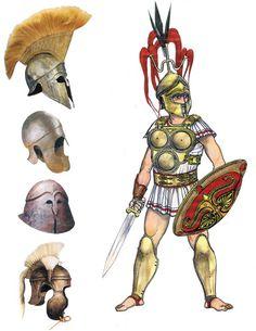 Roman warrior, 5-4th c. BC