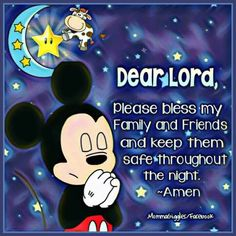 Disney Love, Disney Mickey, Mickey Mouse And Friends, Minnie Mouse, Disney Images, Good Night Sweet Dreams, First Love, My Love, Dear Lord