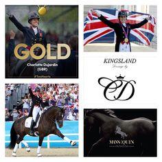 Congratulations to Charlotte Dujardin & Valegro winning Gold at Rio 2016…