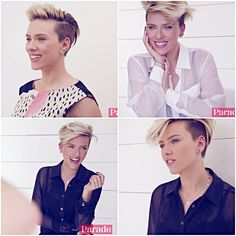 Scarlett Johansson for Parade magazine (stills from this video).