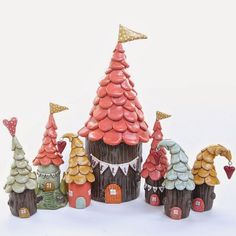 Dwellings by JESSICA JANE | Polymer Clay Planet
